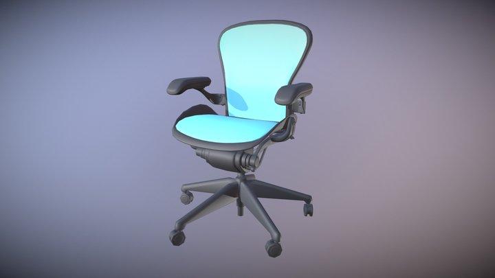 Herman Miller Office Chair 3D Model