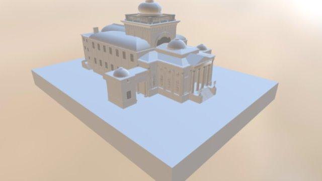 Wielka Synagoga na Tlomackiem 3D Model