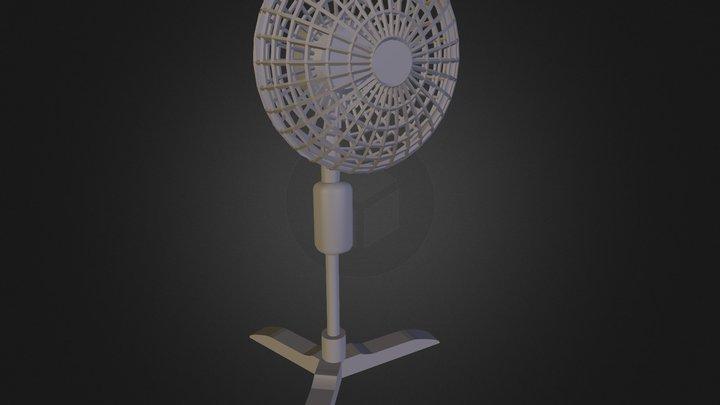 Stand up Fan 3D Model
