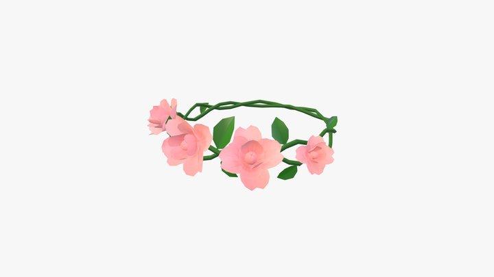 Floral Crown 3D Model