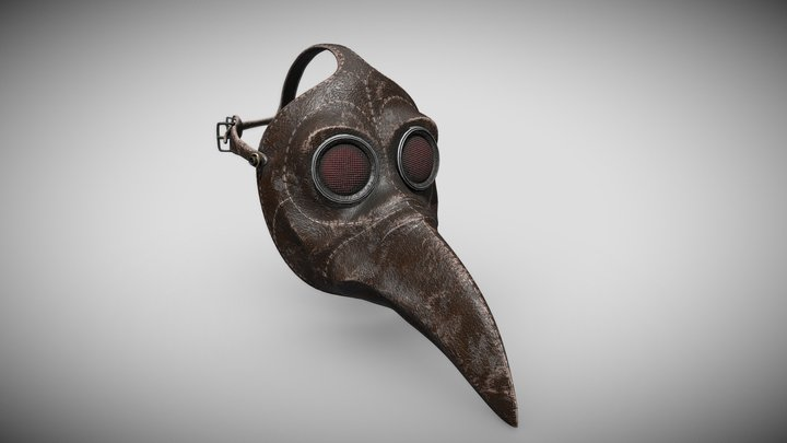 Plague Mask - Pestis Maszk 3D Model