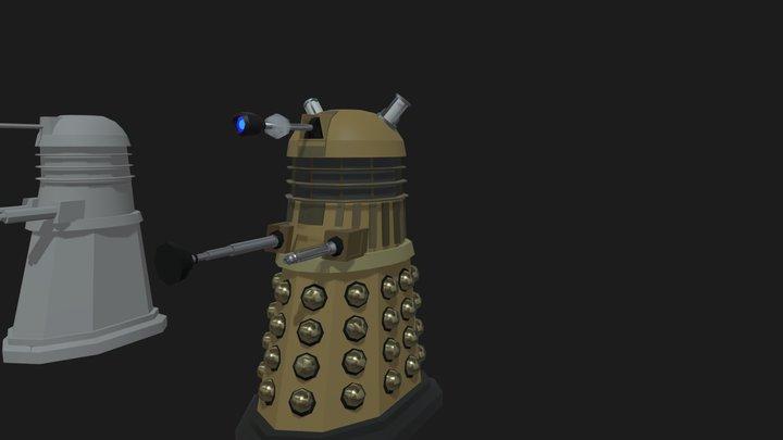 Dalek Detalization 3D Model