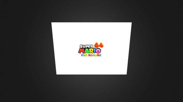 Super Mario 64 Fan Remake 3D Model
