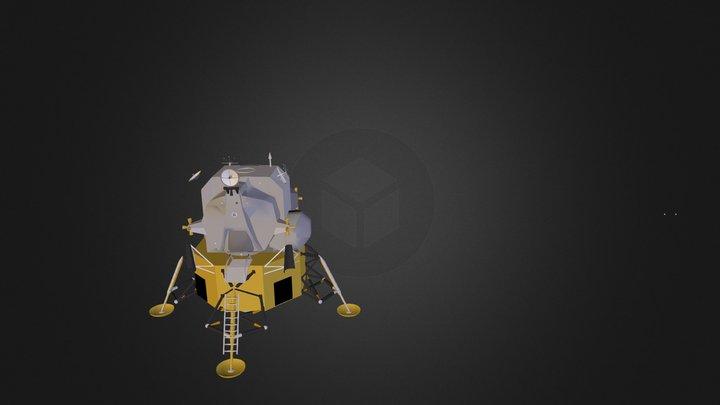 273689main Lunarlandernofoil C 3D Model