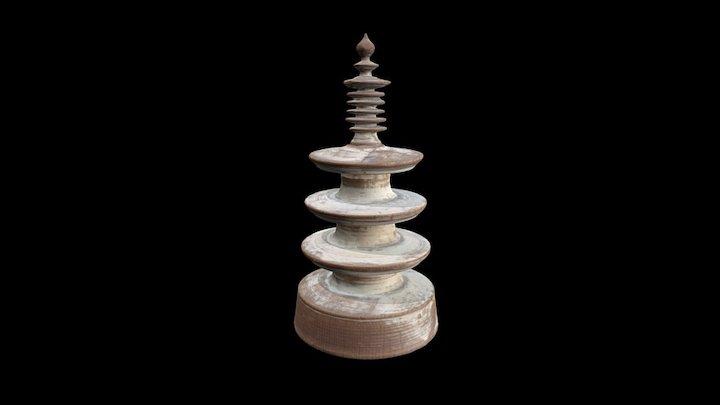 Hyakumantō darani (FG.870.1-4) 3D Model
