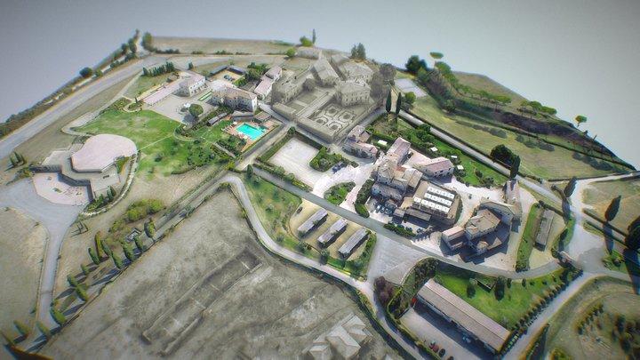 La Bagnaia Golf & Spa Resort 3D Model