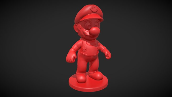 Mario for 3D printing 3D Model