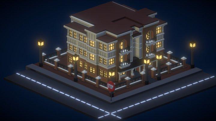 Residencia Blackwood 3D Model