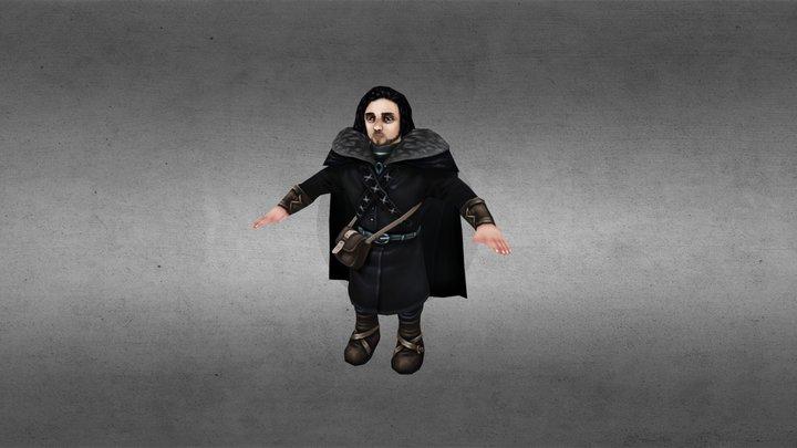 Jon Snow 3D Model