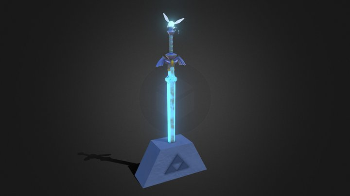 Master Sword - The Legend of Zelda 3D Model