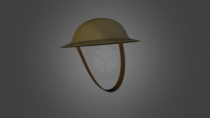 Brodie helmet 3D Model