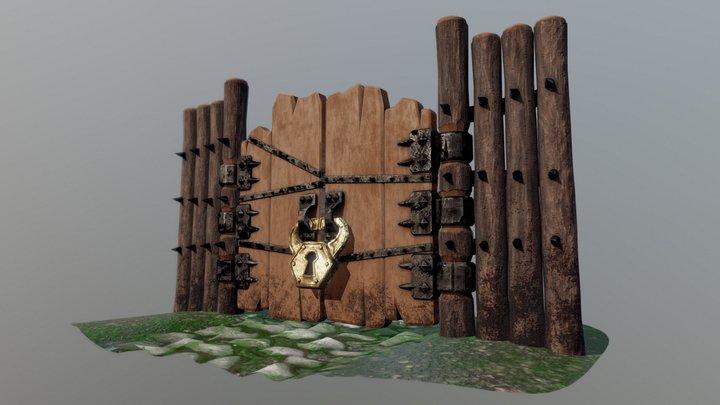 Goblin Gate 3D Model