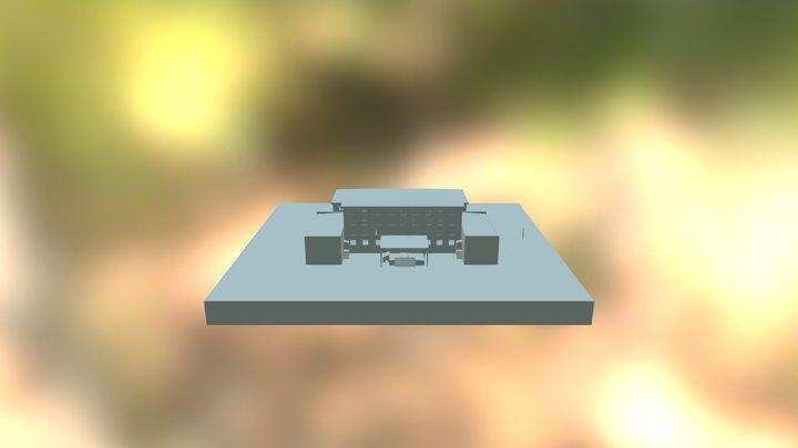 Техникум 3D Model