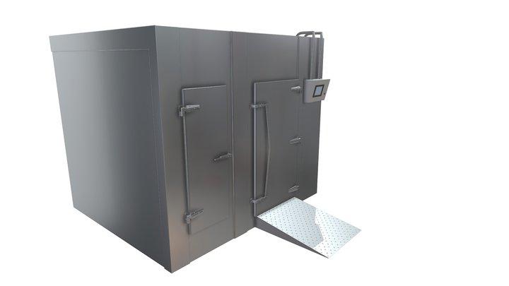 industrial refrigerator 3D Model
