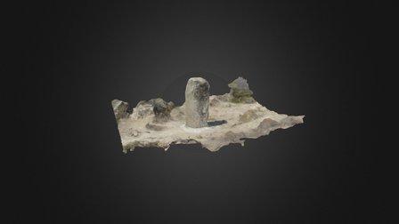 Menhir De Serrata 3D Model