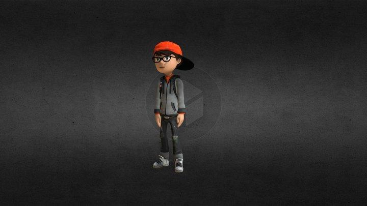 Alex AJ boy 3D Model