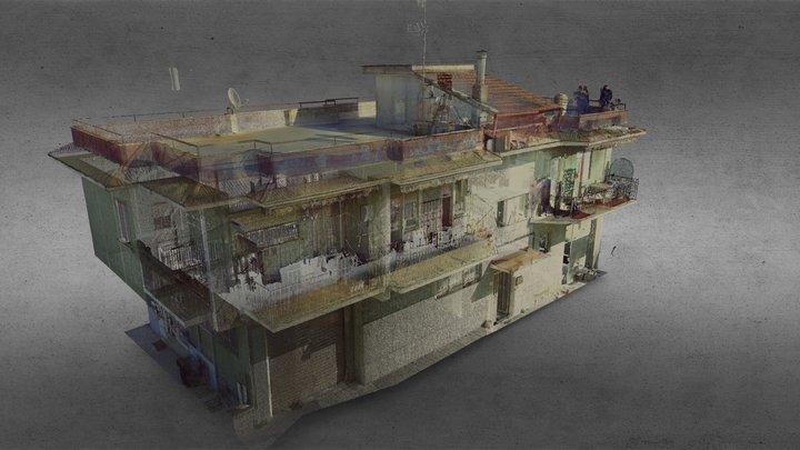 Nuvola Punti condominio 3D Model