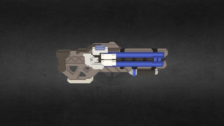 Soldier: 76 Rifle 3D Model