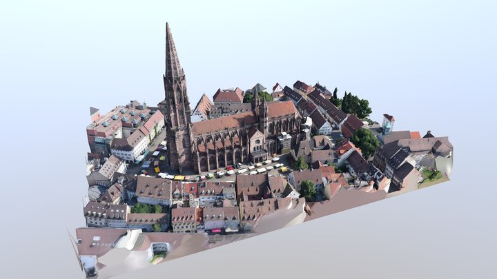 Freiburger Münster 3D Model