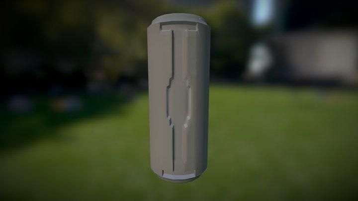 Sci Fi Tube Simple2012 3D Model