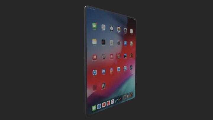 Ipad Pro 12.9 (2020) 3D Model