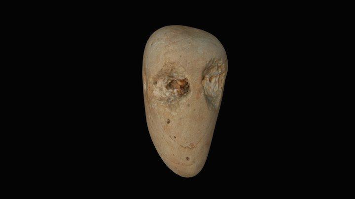 Slievemore Stone Head 3D Model