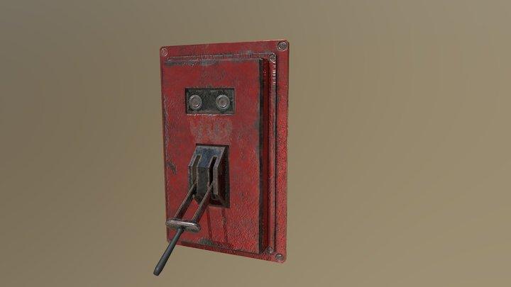 Old lever 3D Model
