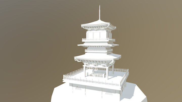 Chinese Fantasy04 3D Model