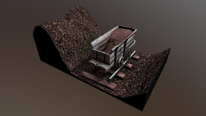 Ironstone Quarrying 3D Model