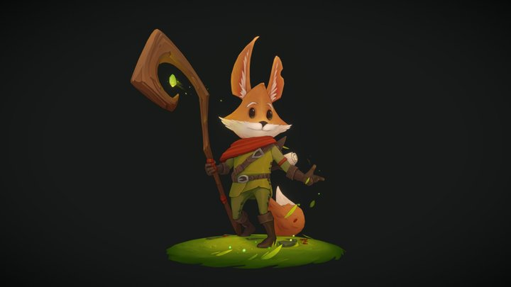Fenn, The Forest Guardian 3D Model