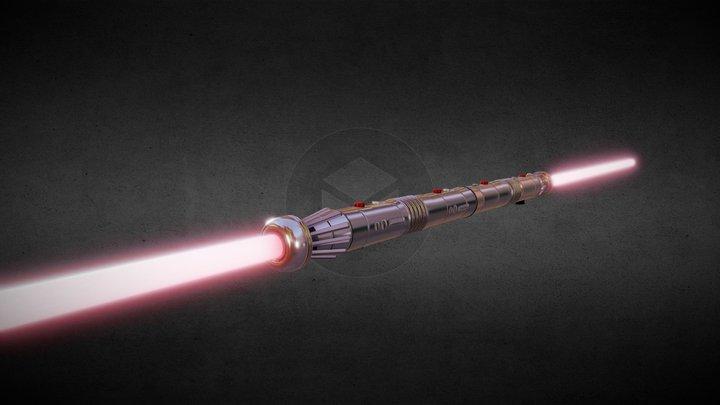 Darth Maul's Lightsaber 3D Model
