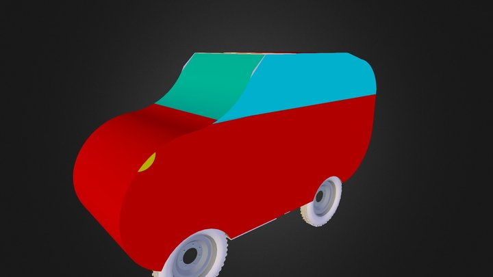 Coche Jaume 3D Model