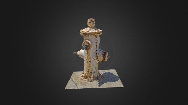Rusty Hydrant 3D Model