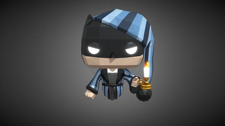 BATMAN as EBENEZER SCROOGE (for wall) 3D Model