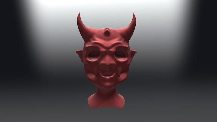 Cabeza Demon 3D Model