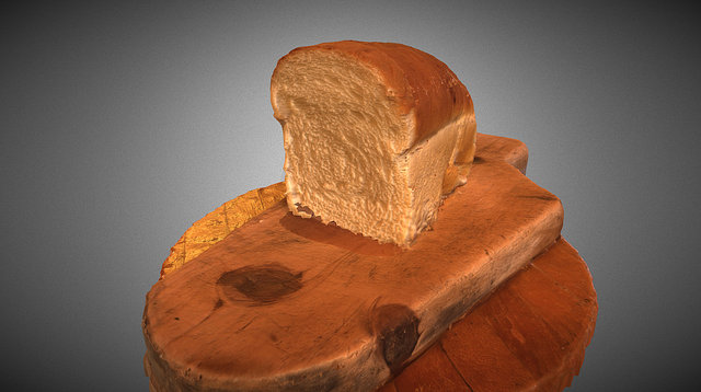 Made the Bread - Wip Photogrammetry 3D Model