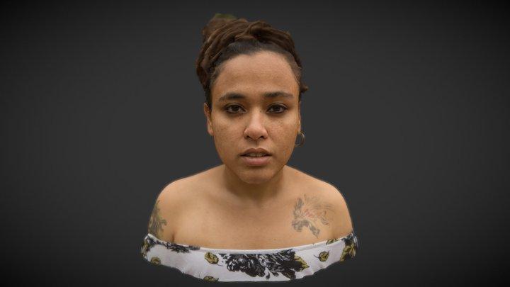 Zany Madhu 3D Model