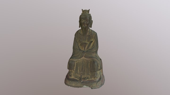 Daoist Immortal 3D Model