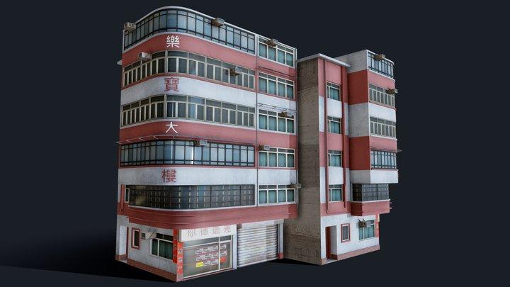 Chinese Building Lok Po 3D Model