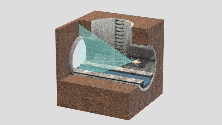 Below the City 3D Model