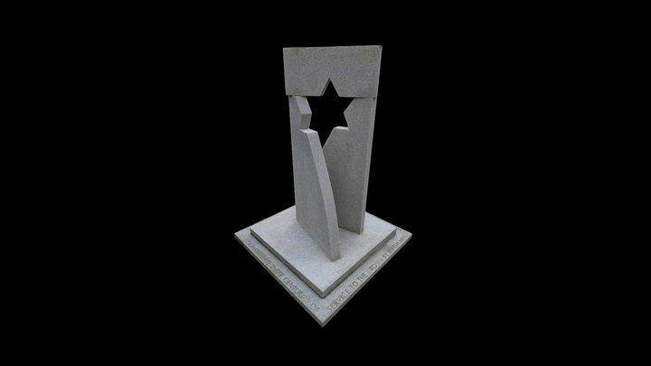 AJEX Memorial: Jewish Service Men and Women 3D Model