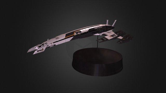SR2 Normandy Model 3D Model