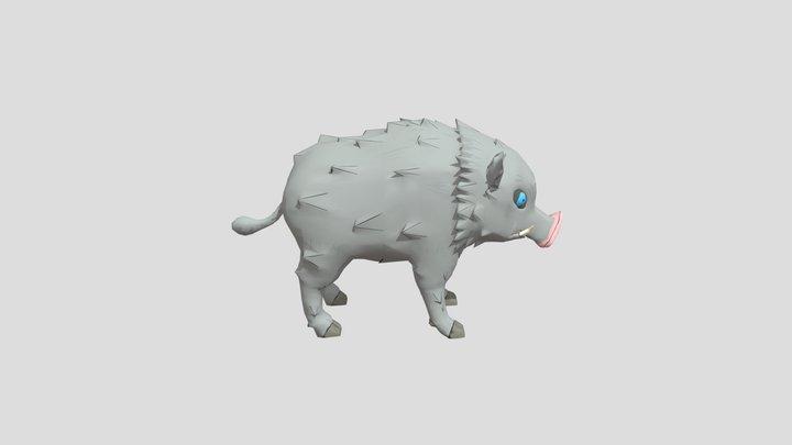 Awful Boar 3D Model