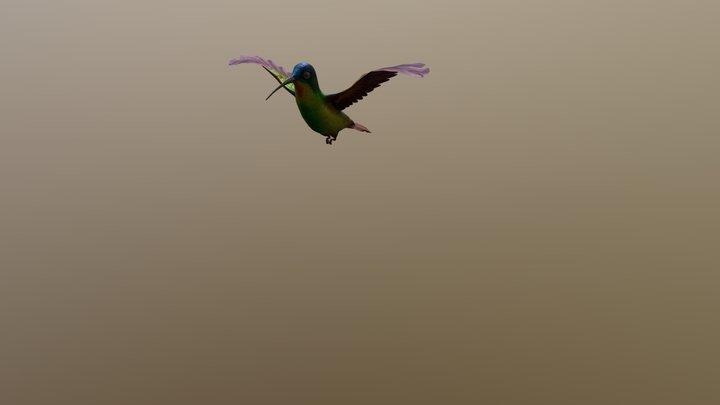 Flying bird 3D Model