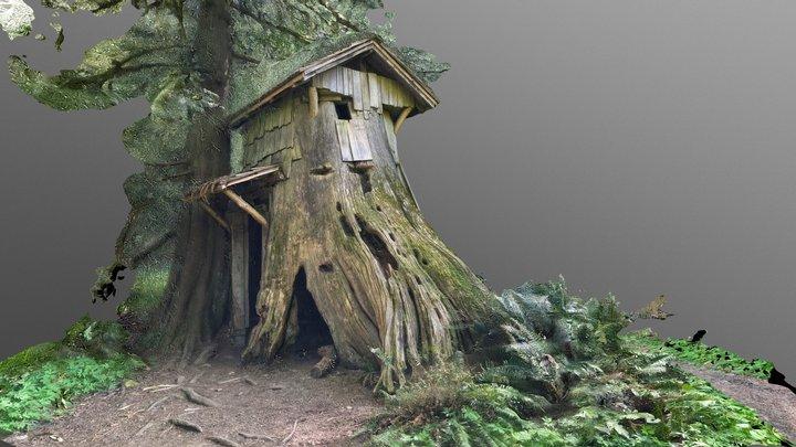 Stump House 3D Model