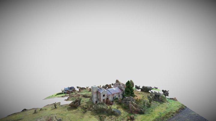 Pałac Wola Grzymkowa 3D Model