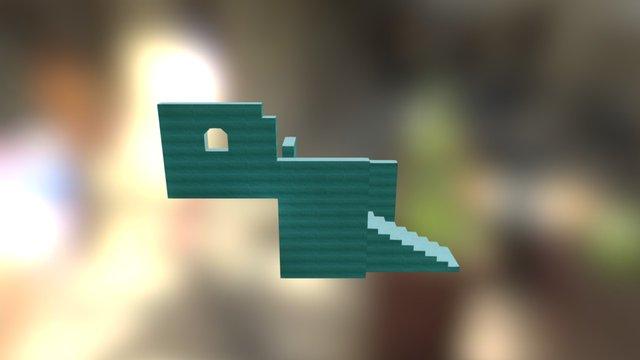 Cliff House 3D Model