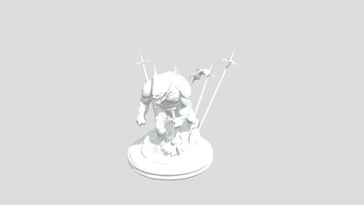 Yeenoghu_Turntable 3D Model