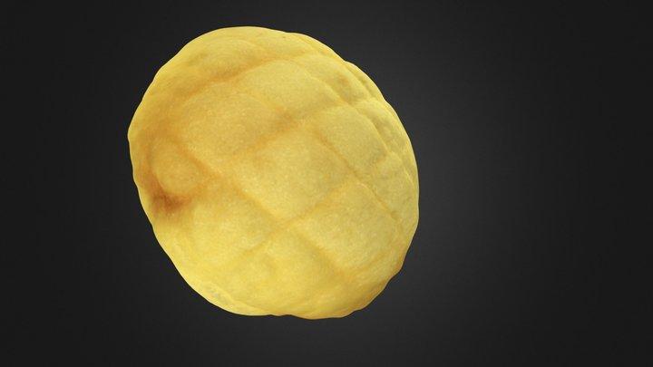 The Melon Bread 3D Model