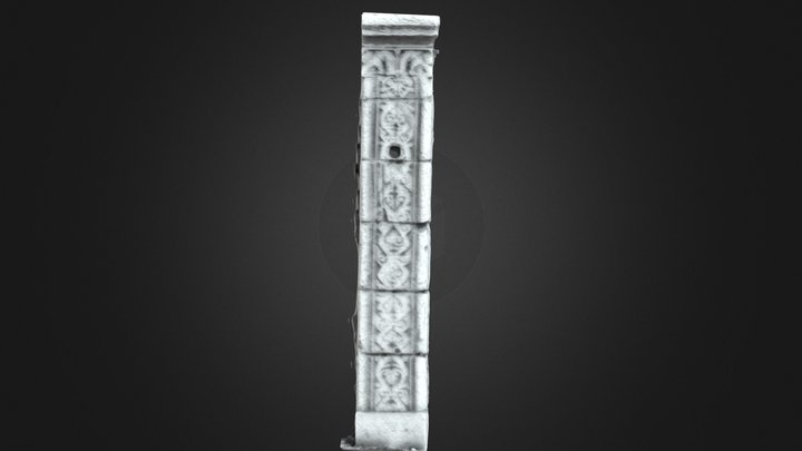 Doorway Carvings - Monaincha 3D Model